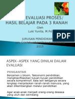Per. 3 Ranah Evaluasi