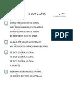 45. Te Doy Gloria - Eyv