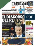La Gazzetta Dello Sport Con Edizioni Locali - 18 Luglio 2016