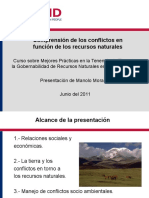 USAID Land Tenure Training Quito Ecuador Comprension