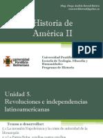 Unidad 5 Revoluciones e Independencias Latinoamericanas