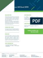 Analisis Grafico Microsoft Excel 2010