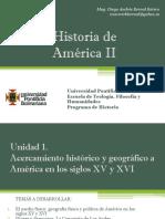Cronograma de Sesiones y Exposiciones Historia América II (Avance)