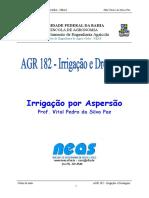 Fórmula para diâmetro de tubo - IRRIGAÇÃO POR ASPERSÃO.docx