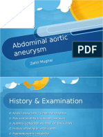 6. Abdominal Aortic Aneurysm