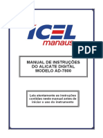 AD 7800 Manual