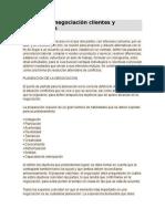 Simulación Negociación Clientes y Proveedores