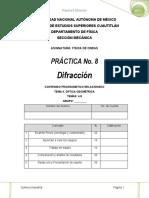 Practica 8 Difración_2017-I