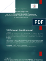 El Tribunal Constitucional Dominicano
