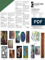 Invitación a muestra de Arte- Galería Forma noviembre 2016