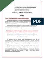 Texto_porque Estudar Empreendedorismo