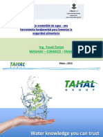 3 Manejo Sostenible Del Agua Y. Dotan TAHAL-MASHAV