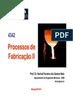 Aula 22 Pfii 2015 Fundição Fofo e Reofundição