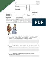 Guía de Trabajo EL Burgués
