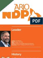 ndp federal party prezentation