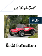 Kick Out Traditional Instruction Manual