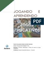 Numeração de páginas - Portifolio Com Jogos Educativos