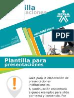 Plantilla Presentación SENA 2015