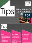Tips Para Modelos de Naciones Unidas COLMUN UCV