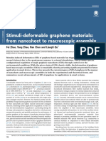 Stimuli-Deformable Graphene Materials