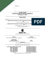 Apple 10-K Report