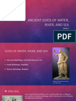 ancient gods of water river and sea