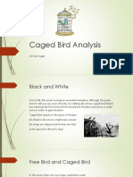 caged bird analysis
