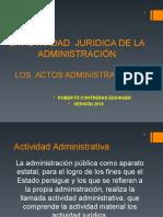 Actos Administrativos 2016