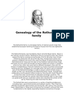 Genealogy of the Rothschild Family