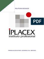 Politicas Sociales , Unidad I, Primera Semana