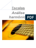 Escalas - Análise harmônica