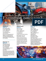 GEARS 2016 Powertrain Expo Exhibitor Directory