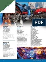 GEARS 2016 Powertrain Expo Exhibitor Directory
