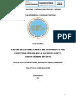 CAUSAS DE LA INAPLICACION DEL TESTAMENTO POR ESCRITURA PÚBLICA EN LA SUCESION MORTIS CAUSA HUACHO 201-2015.pdf