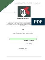 Memoria Descriptiva de Arquitectura - Copia