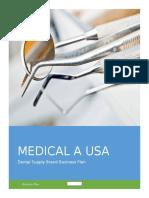 Medical a USA Business Plan