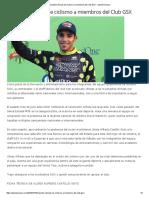 16-10-16 Imparten Clínicas de Ciclismo a Miembros Del Club GSX - Opinión Sonora