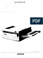 Epson EPL-6000 User Manual