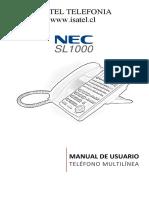 SL1000 Uso Multilinea