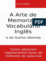 A Arte de Memorizar Vocabulario - Luis Lopes