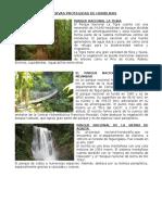 Reservas Protegidas de Honduras