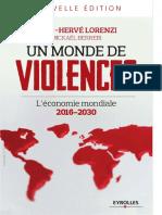 Jean-Hervé Lorenzi, Mickaël Berrebi - Un Monde de Violences. L'Économie Mondiale 2016-2030