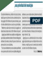 17-10-16 Orden administrativo, una prioridad del municipio