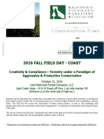 Fall Field Day Coast Flyer Registration Form PDF