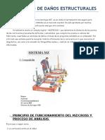 Diagnóstico de Daños Estructurales.