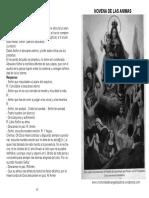 Novena de Las Animas Del Purgatorio