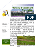 April 2016 Pullman Planning Newsletter