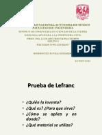 Pruebas de Lefranc Gaic