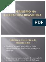 Modernismo Na Literatura Brasileira