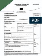 Visa Application for Malta in  French